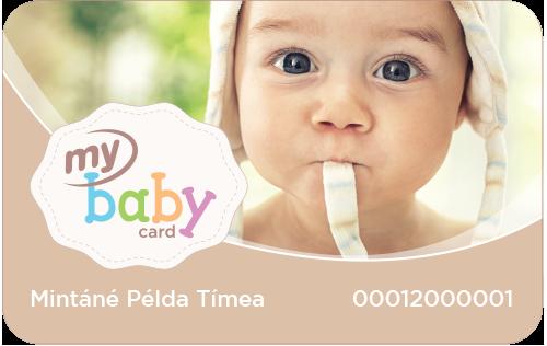 My Baby Card
