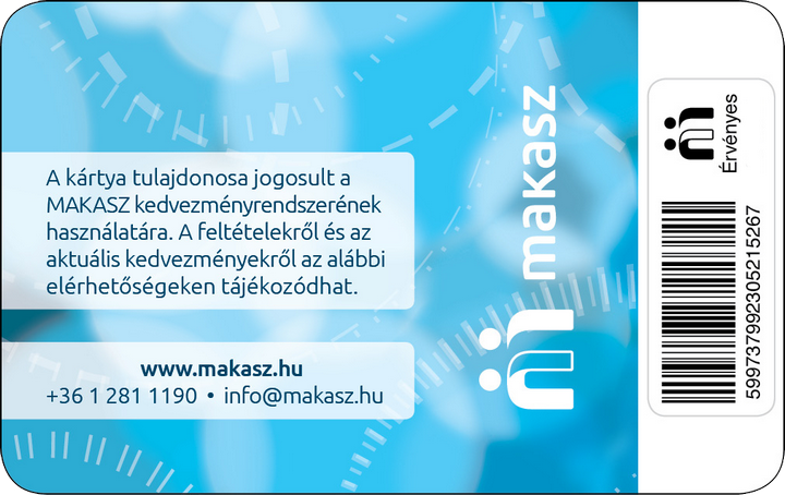 MKKSZ XV. kerületi Polgármesteri Hivatali Alapszervezete hátlap
