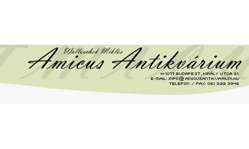 Amicus Antikvárium Kft