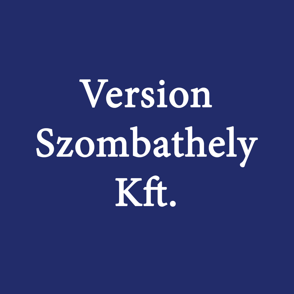 Version Szombathely Kft.