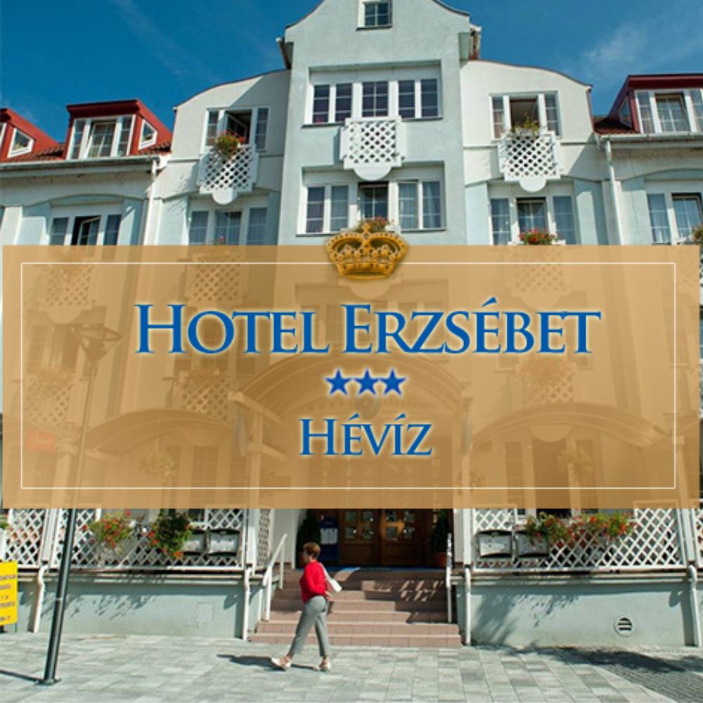 Erzsébet Hotel - Hévíz (Rudolf Segélyegyesület)