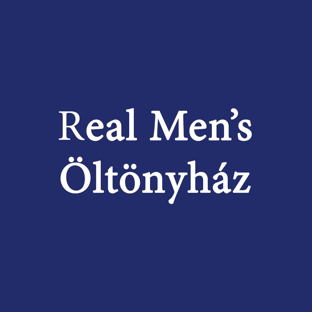 Real Men's Öltönyház