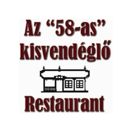 58-as Kisvendéglő - Budapest