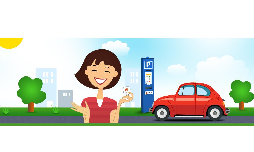 Mobilparkolás Mpark
