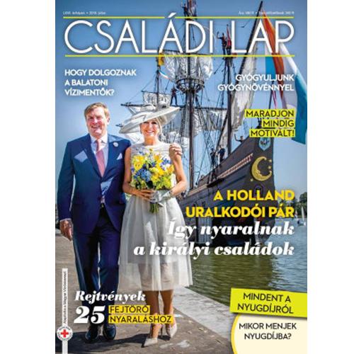 Családi Lap Havi Magazin 1 Éves Előfizetés