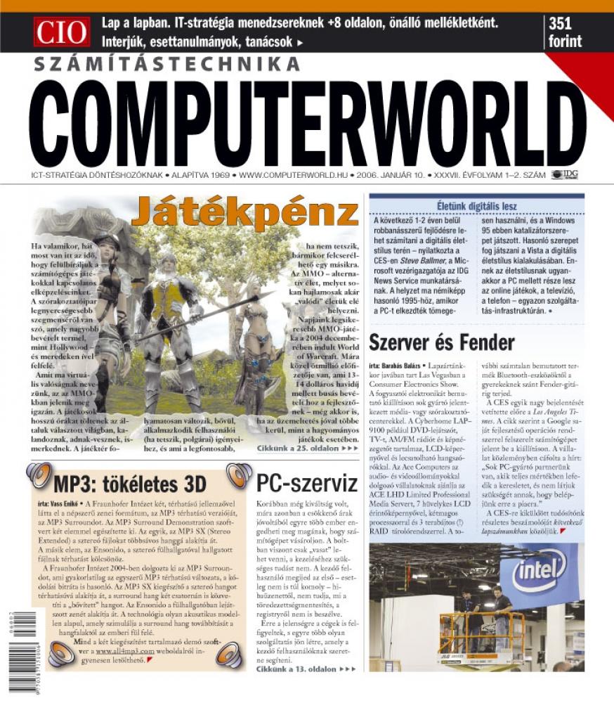 Computerworld Számítástechnika,  éves