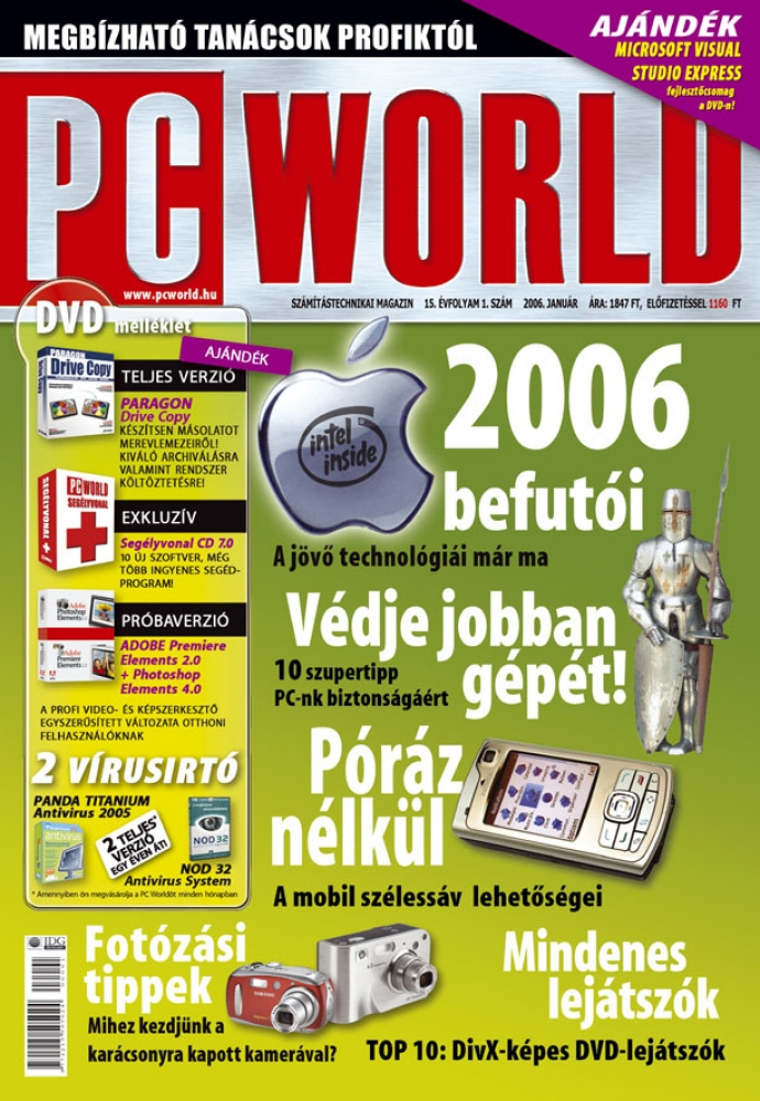 PC World negyedéves