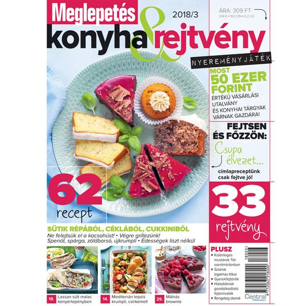 Meglepetés Konyha & Rejtvény magazin-előfizetés