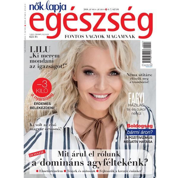 Nők Lapja Egészség magazin-előfizetés